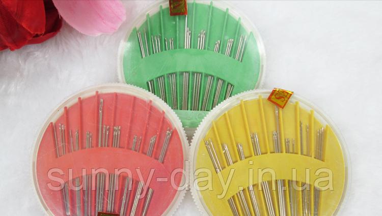 Иглы швейные (набор в органайзере)