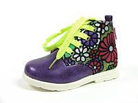 Детские ботинки Clibee:P-86 Фиолетовый, Размеры: с 21 по 26