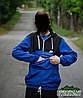 Мужской сине-черный анорак ветровка NIKE