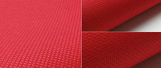 Канва для вишивання Aida 14 червона 45*50см