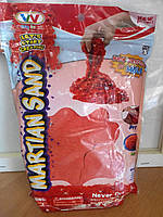 Песок для творчества в пакете, 1000 г. (разные цвета, с блёстками), фото 1