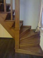 Лестница древесины