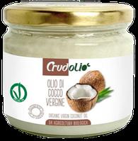 Кокосовое масло Crudolio Olio di Cocco Vergine, 200 мл.