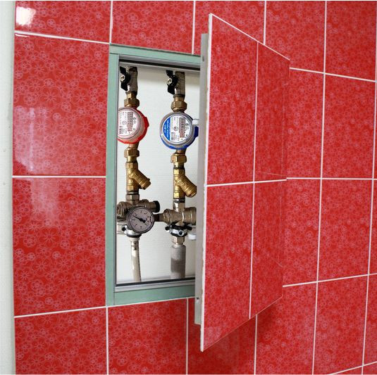 дверца сантехническая под плитку доступно дома