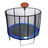 Батут EnergyFIT GB10103-8FT c баскетбольным щитом