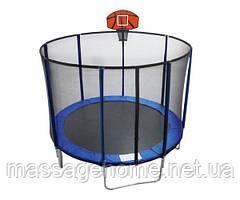Батут EnergyFIT GB10103-10FT c баскетбольным щитом