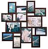 Мультирамка «Путешествие» Венге (12 фотографий)