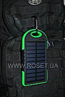 Портативный внешний аккумулятор с солнечной батареей - POWER BANK SOLAR CHARGER 10000 mAh