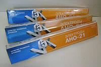 Электроды для сварки углеродистых сталей АНО-21 ф4мм (уп.5 кг)