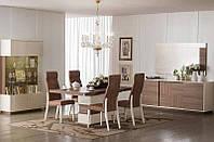 Стол раздвижной с 1 вставкой 45 см, фото 1