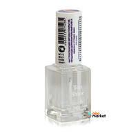 Лаки для ногтей Zinger Быстросохнущее покрытие Zinger Top Shine NC72 (SR23) придающее дополнительный блеск 14 мл