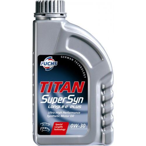 Моторное масло FUCHS TITAN Supersyn LONGLIFE PLUS 0W-30 (1л.)