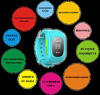 Умные часы-телефон детские SMART BABY WATCH Q50