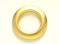 Люверсы 33 мм   золото матовое