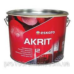 Краска Eskaro Akrit 12 9.5л
