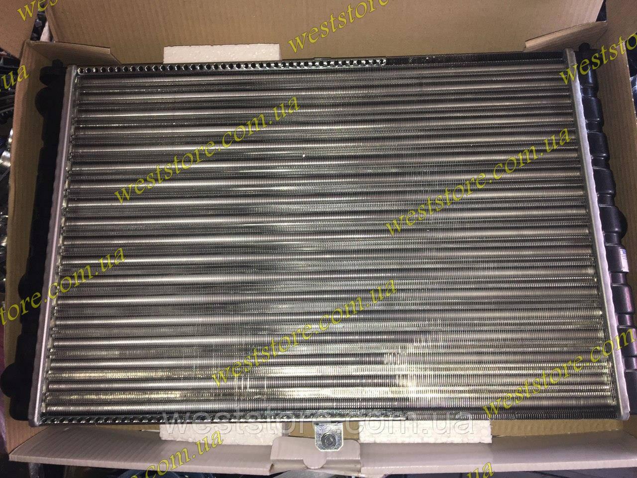 Радиатор охлаждения Ваз 2108 2109 21099 ЛУЗАР (алюминевый) (LRc 01080)