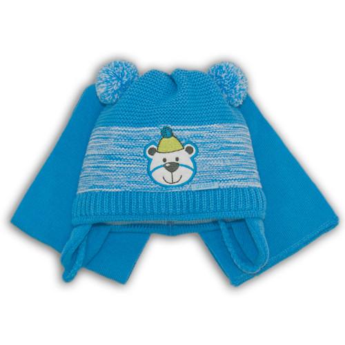 Шапочка и шарф для мальчика
