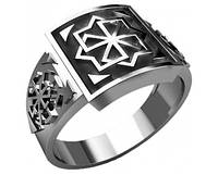 Кольцо серебряное Молвинец и Светоч 30274