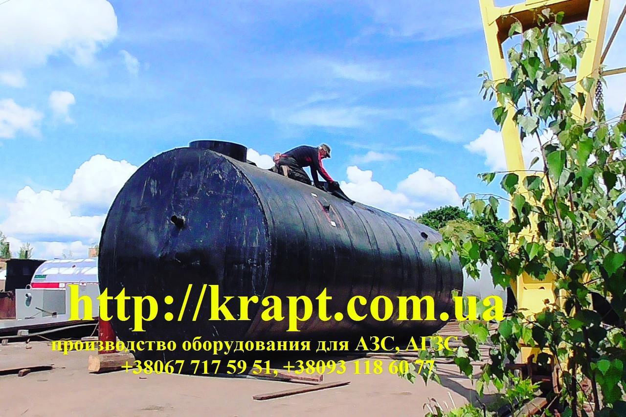 Пожарный резервуар, емкость для воды  - КРАПТ  компания производитель- емкостное, резервуарное, теплообменное оборудование  в Житомирской области