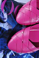 Балетки женские розовые модные