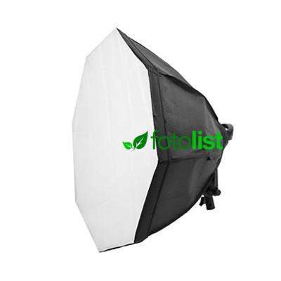 Постоянный флуоресцентный свет Mircopro FL-305 + софтбокс октагон Ø80 см, 4х28w, 560 Вт, 5500К