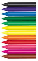 Мел восковый, восковые карандаши