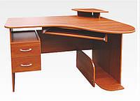 Стол компьютерный угловой с полками СКУ-1 ЛИОН, фото 1