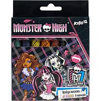 Мелки восковые Jumbo 8 цветов Monster High