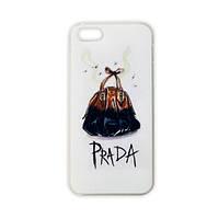 Модельный чехол для iPhone 5/5S - PRADA