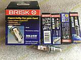 Свечи Brisk  LR15YS Silver ваз 2101 2103 2104 2105 2106 2107 2108 2109 21099 2113 2114 2115 таврия Lanos Sens, фото 5
