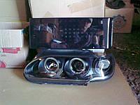 Передние фары + задние фонари Иксы №5 на ВАЗ 2114.