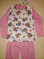 Пижама на девочку, рост 116 см