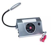 Маникюрная вытяжка с фрезером и подсветкой Simei 858-1 (в)