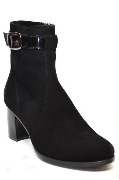Женские ботинки (арт.620 замш.)