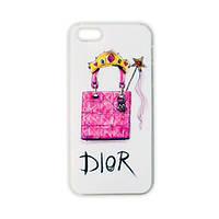 Модельний чохол для iPhone 5/5S - Dior