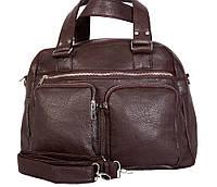 Прекрасная дорожная сумка коричневого цвета