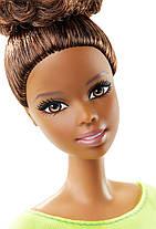 Кукла Барби Двигайся как я Фитнес Йога в оранжевом топе Barbie Made to Move Barbie Doll, Yellow Top, фото 2