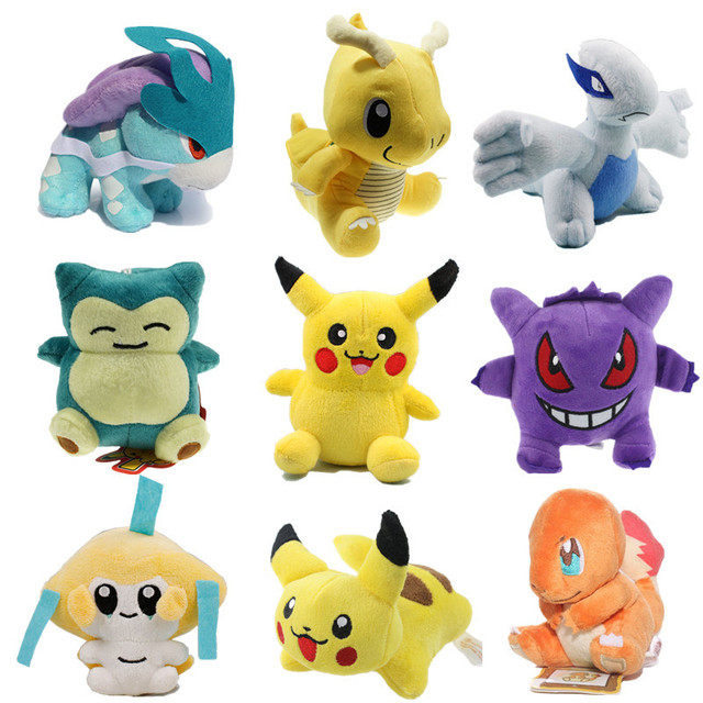 Мягкие игрушки Pokemon GO