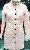 Стеганое пальто с жемчугом Китай 4 цвета