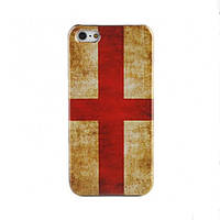 Чехол для iPhone 5/5S флаг ретро стиль - Крест Святого Георгия, фото 1