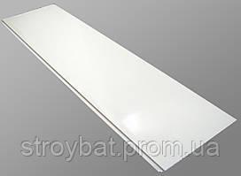 Пластиковая панель 100*10 белая