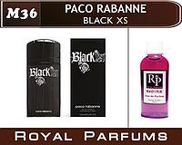 Мужские духи на разлив  Paco Rabane «Black XS» №36    35мл +ПОДАРОК