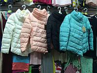Стеганая асимметричная куртка Китай 4 цвета