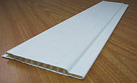 Панель пластиковая ПВХ 100*10 молочная