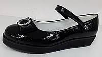 Туфли лаковые для девочек, детская обувь ТМ B&G. 32 34 35 36 37