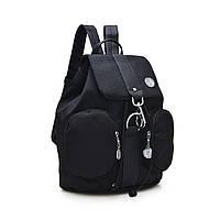 Женский молодежный рюкзак черного цвета. Городской рюкзак., фото 1