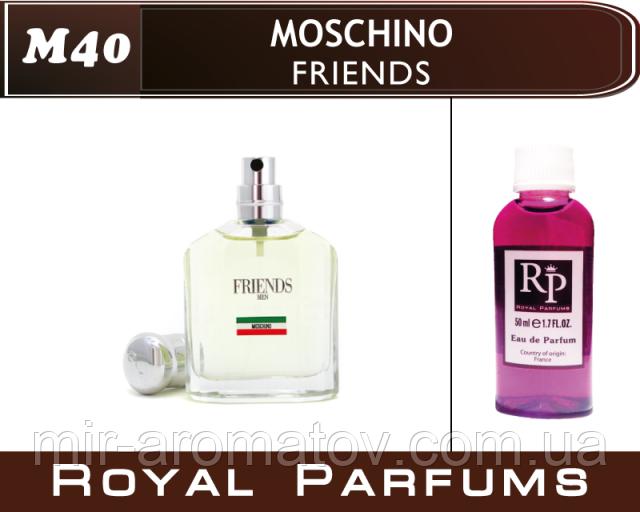 Мужские духи на разлив  Moschino «Friends»  №40    30мл +ПОДАРОК