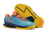Кроссовки баскетбольные Under Armour Curry One SC30, кроссовки для баскетбола андер армор низкие голубые