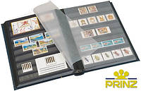 Альбом для марок Prinz A4 - 16 страниц - красная обложка