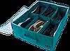 Кофр для обуви на 6 пар ORGANIZE (лазурный), фото 4